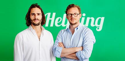 Helpling oprichters Benedikt Franke en Philip Huffmann